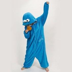 Pijama Tierna Adulto Unisex Cosplay Costume Animal Azul Elmo 195d51a91001