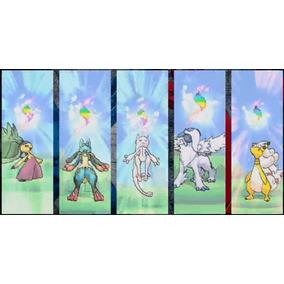Pacote Pokemon X Y Or As Com Todas As 50 Mega Evoluções