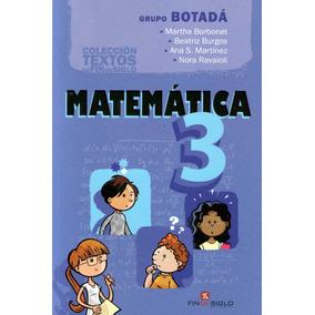 Matemática 3 / Grupo Botadá