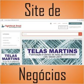 Site De Negócios Para Anúncios Comerciais
