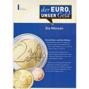Prospecto / Pôster - Moedas De Euro (todos Os Países)