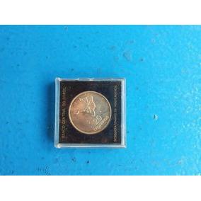 Moeda De 20 Cruzeiros 1972 De Prata Comemorativa