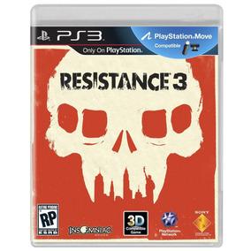 Resistance 3 Ps3 Game Original Lacrado