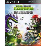 Plants Vs Zombies Garden Warfare Ps3 Digital Gcp