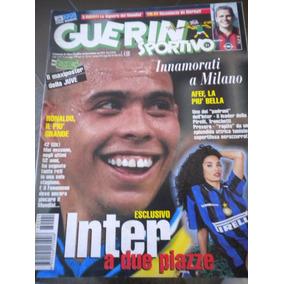 Revista Guerin Sportivo Ronaldo Internazionale Milan 1998