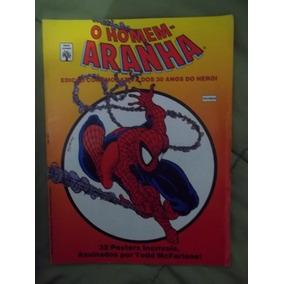 Homem-aranha-revista Com 32 Posters De Todd Mcfarlane