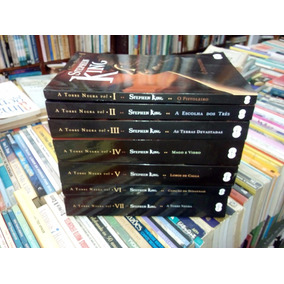 A Torre Negra De Stephen King Em 7 Volumes #