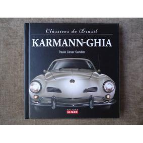 K A R M A N N - G H I A - Carro Antigo - Livro Catálogo