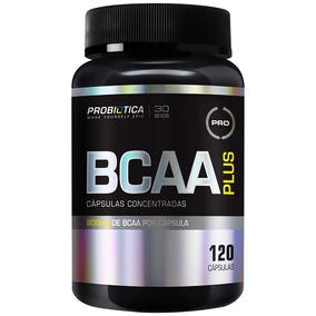 Pro Bcaa Plus - 120 Cápsulas - Probiótica