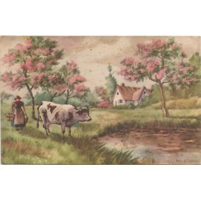 Cartão Postal Antigo -paisagem - Dec 1920/30 - O5