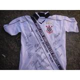 Camisa Do Corinthians Tri Campeão Brasileiro 1990 1998 1999