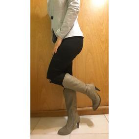 1b57a38e5 Botas Mujer Caña Alta - Zapatos Plateado en Mercado Libre Argentina