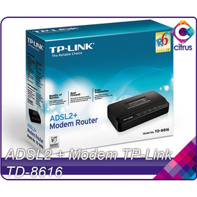 Modem Tp-link Adsl2+ Td-8616 Banda Ancha Internet Aba Cantv