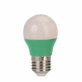 Kit 10 Lampadas Led 3w Colorida Verde Bivolt Bulbo 3016 Bola