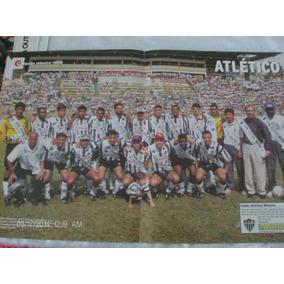 Poster Placar 55 X 35 Atlético Mineiro Camp. Mineiro 1995