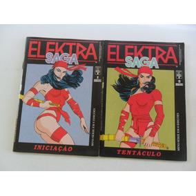 Elektra Saga! Vários! R$ 10,00 Cada! Ed. Abril 1989!