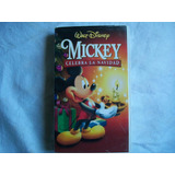 Mickey Celebra La Navidad Vhs
