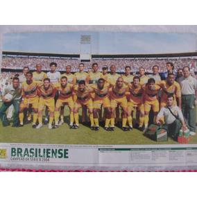 Poster Placar Brasiliense 41x27 Campeão Da Série B 2004