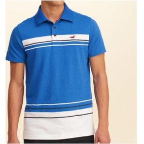 Camisa Camiseta Polo Hollister Original 9112d1a138e63