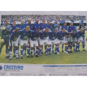 Poster Placar Cruzeiro 41x27 Campeão Mineiro 2003