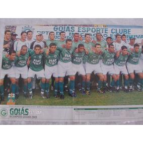 Poster Placar Goiás 41x27 Campeão Goiano 2003