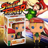 Funko Pop Cammy Street Fighter Games Figure Firewolf Figura