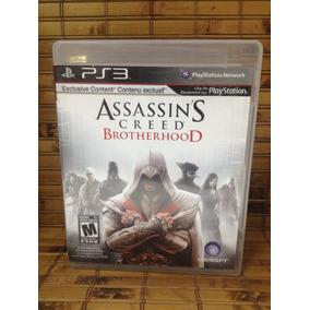 Jogo Ps3 - Assassins Creed Brotherhood - Frete Barato