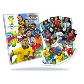 Cards Adrenalyn Copa Do Mundo 2014 210 Base + Pasta + Game B