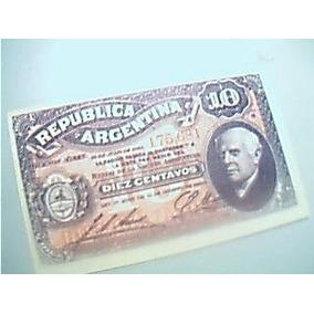 Facsimil De 10 Centavos Año 1895 Emitido Por Banco Nación
