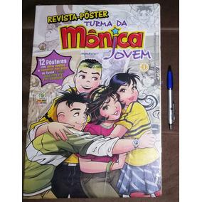 Revista Pôster Turma Da Mônica Jovem Nº 1 - 12 Pôsteres 2010