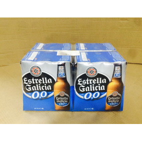 Cerveja Estrella Galicia S/ Alcool 0,0 Fardo C/ 24 Un 250 Ml