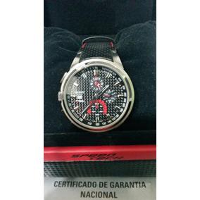 Relógio Orient Speed Tech Mbscc009 Cronógrafo Carbono Couro
