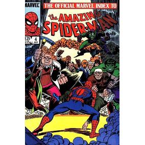 Marvel The Official Marvel Index To Spider-man - Volume 1