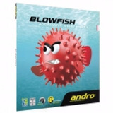 Hule Andro Blowfish P/raqueta De Tenis De Mesa Grano Corto