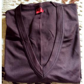 013 Rps- Roupa Blusa Camiseta Moda Atual- Marrom