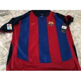 Playera Barcelona 2003 en Mercado Libre México 5c38a04d1b8