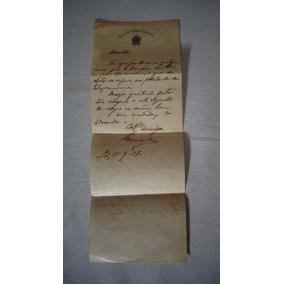 Papel Timbrado Viação Cearense Memorabilia 1918