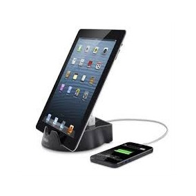 Power Tablet Stand With 2.1a Usb Charging -suporte P/ Tablet