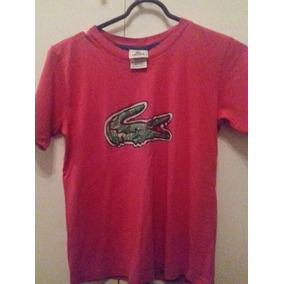 6200f3778c31c Camiseta Polo Lacoste Infantil - Calçados, Roupas e Bolsas no ...