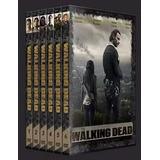 Box The Walking Dead 1ª Á 8ª Temporada Dublada ( 25 Discos )
