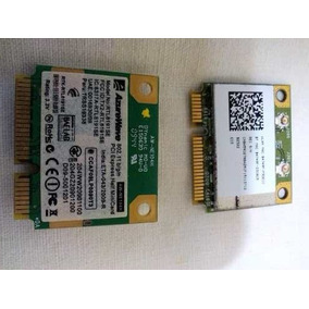 Placa Mini Pci-e Compatibles Con Todas Notebooks Netbooks