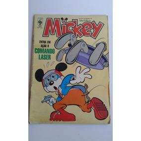 Revista Mickey Nº 426 Comando Laser Bom Estado