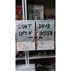 Liquidando - Quadro Artesanal The Walking Dead