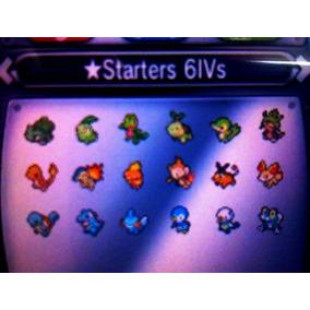 Todos Os 18 Iniciais Shiny, 6 Ivs, Kalos Born - Pokemon X Y