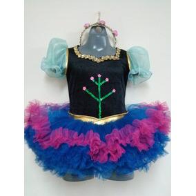 Hermoso Tutú Anna Frozen Con Capa Fiesta-kids.mx 5951544d966