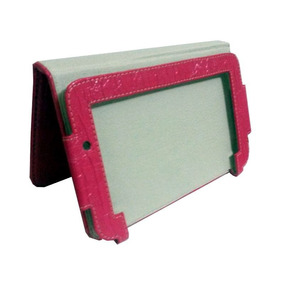 Capa Case Genesis 7 Gt-7205 Pink Texturizada 200x115x10mm