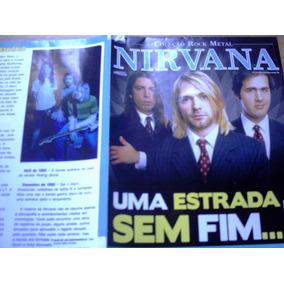 Col. Rock Metal - Poster De Nirvana - Uma Estrada Sem Fim...