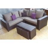 Sala Espana Esquinera Envio Gratis Sillones Sofa Muebles