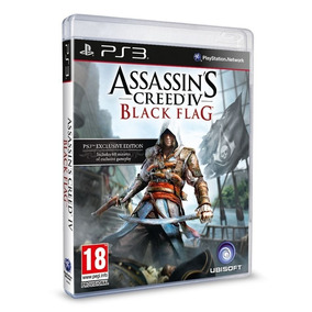 Assassins Creed 4 Black Flag Ps3 Blu-ray Midia Fisica Origin