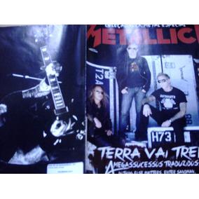 Col. Rock Metal - Poster De Metálica - Terra Vai Tremer